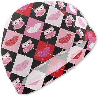 Gorro de baño Birds-Heart para niños Gorro de baño para niños