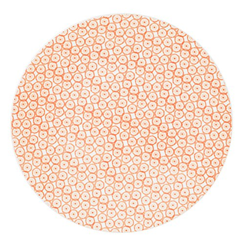 Table Passion - Assiette plate soléa corail 27 cm (lot de 6)