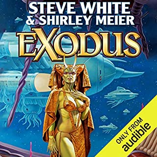 Exodus     Starfire, Book 5              Written by:                                                                                                                                 Steve White,                                                                                        Shirley Meier                               Narrated by:                                                                                                                                 Marc Vietor                      Length: 10 hrs and 1 min     4 ratings     Overall 4.0