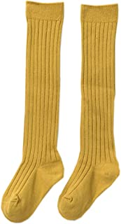 XueXian Classic Socks Girls Cable Knitted Stockings Tights Solid Colour