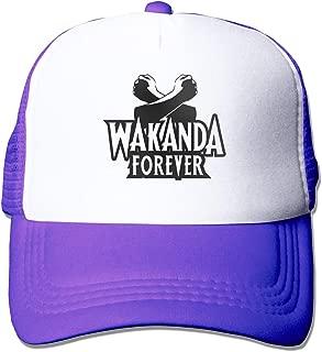 Black Panther Wakanda Forever Salute Dad Hat Adjustable Plain Hat Cabbie Hat