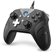 IFYOO XONE Wired PC Controller USB Gaming Gamepad Joystick for Computer & Laptop (Windows 10/8/7/XP, Steam), Android, PS3 and Switch - [3.2M Detachable USB Cable]