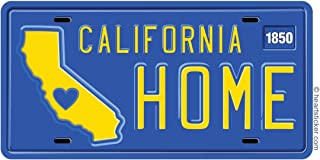 California Sticker Home License PlateVinyl Decal Label Stickers, Die-Cut Shape for Water Bottle Laptop Luggage Bike Laptop Car Bumper Helmet Waterproof Show Love Pride Local Spirit. 415 707 SF LA
