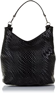 (Black) - FIRENZE ARTEGIANI Women's Tote Bag Black