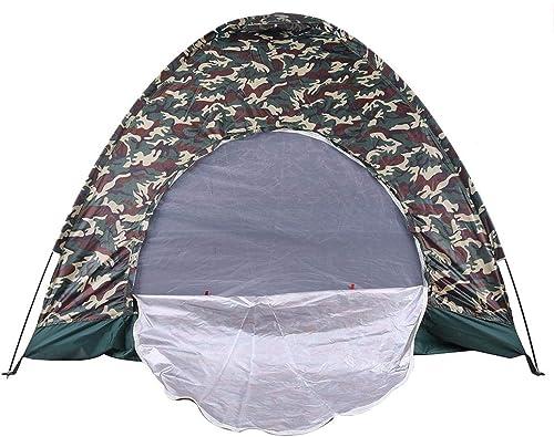 CHYYZP Tente Wigwam Camouflage 4 Personne Imperméable à l'eau Imperméable à l'eau Léger Plage Pêche à La Chasse