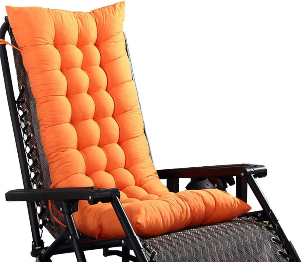 Black Wine Red Gray Navy Orange hinffinity Lounge Chair Cushion Rocking Chair Cushion Padded Chair Cushion Rattan Chair Cushion Sofa Cushion For Travel//Holiday//Indoor//Outdoor