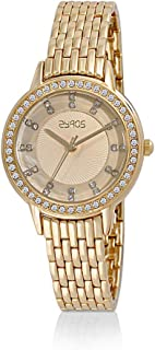 ساعة يد للنساء من زايروس ، ZY156L010133W