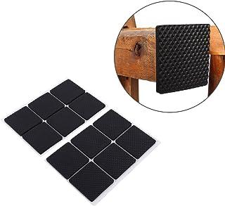 OUNONA 36pcs 2,7 cm Bodenschutz Pad Filz Quadrat Pad f/ür Tisch Stuhl M/öbel