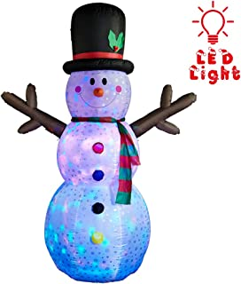 shivering snowman inflatable