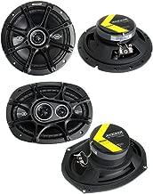 "$91 » 2) Kicker 41DSC684 6x8"" 200W 2-Way + 2) 41DSC6934 6x9"" 360W 3-Way Car Speakers"