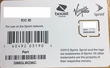 moto g4 sim card sprint