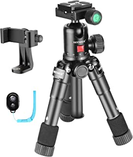 Neewer 20 inches Portable Compact Desktop Mini Tripod with 360 Degree Ball Head,Cellphone Holder,Bag for iPhone,Samsung,Hu...