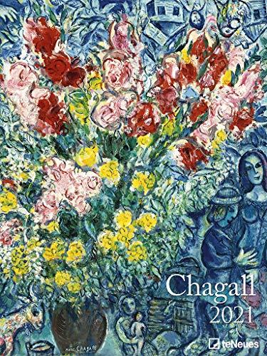 Chagall 2021 - Kunst-Kalender - Poster-Kalender - 48x64