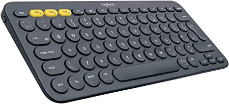 Amazon.com: Logitech K380 Multi-Device Bluetooth Keyboard – Windows, Mac, Chrome OS, Android, iPad, iPhone, Apple TV Compatible – with Flow Cross-Computer Control and Easy-Switch up to 3 Devices – Dark Grey :