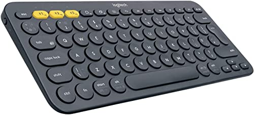 Logitech 920-007558 Multi-Device Bluetooth Keyboard K380, Dark Grey