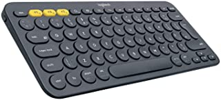 Logitech K380 Multi-Device Bluetooth Keyboard ? Windows, Mac, Chrome OS, Android, iPad, iPhone, Apple TV Compatible ? with...