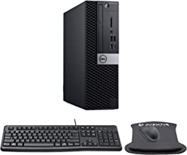 Dell OptiPlex 7070 SFF High Performance Desktop Computer with Intel Core i7-9700 3GHz 8-core CPU, 32GB RAM, 500GB SSD, Key...