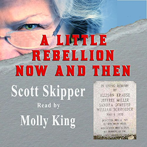 A Little Rebellion Now and Then audiobook cover art