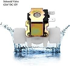 Solenoid Valve Plastic Brass G3/4