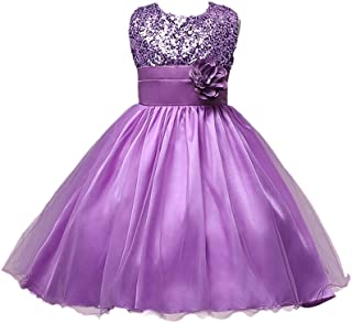 8cdd471a7 LynnBridal Flower Girl Dress Wedding Party Tulle Sequins Girl's Party Dress