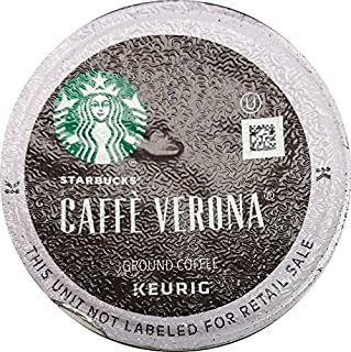 Starbucks Caffe Verona, K-Cup Portion Pack for Keurig K-Cup Brewers, 24 K-Cups (Pack of 2)