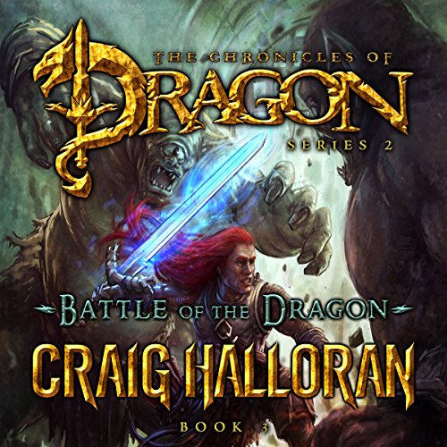 Battle of the Dragon audiobook cover art