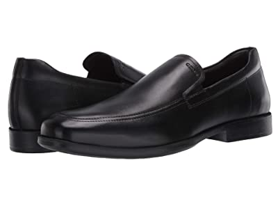 Geox Calgary (Smooth Black Leather) Men