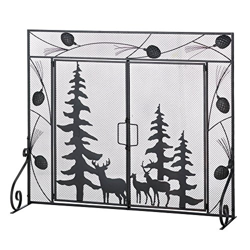 VERDUGO GIFT CO Woodland Wonder Fireplace Screen