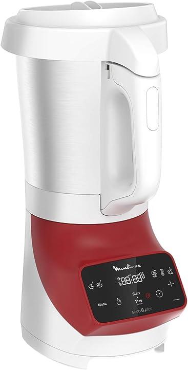 Frullatore riscaldato moulinex soup&co devient potenza 1100 w ricette miste calde o fredde lm924500 LM924500