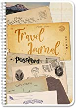 BookFactory Travel Journal/Traveling Itinerary Log Book/Logbook - Wire-O, 100 Pages, 6