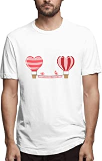 G Fly Hot Air Balloon Birthday Brave Strong Smart New Popular Men's Printing Hot Balloon Ride Black Tee Shirt