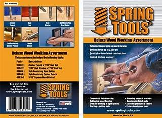 SpringTools WWA1105 5-Piece Deluxe Woodworking Set