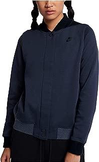 Women's Sportswear Tech Fleece Destroyer Jacket Obsidian/Black XL