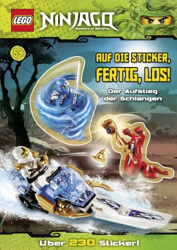 LEGO Ninjago: Auf die Sticker, fertig, los! Der Aufstieg der Schlangen