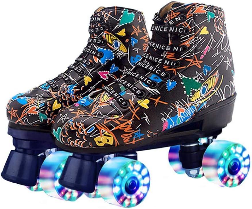 Jacksonville Mall Graffiti Designed Roller Skates for Women Genuine Free Shipping Teens Men R Double and