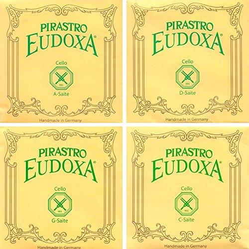 Pirastro Eudoxa 4/4 Cello String Set - 'Medium' Gauge