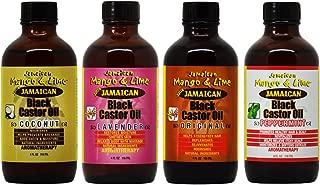 Jamaican Mango & Lime Black Castor Oil 4-piece (Set)