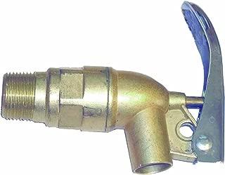 Wesco 272080 Zinc Die Cast Faucet with Viton Gasket, 0.75