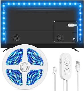 comprar comparacion Lumary - Tira de luces LED para TV de 46-60 pulgadas (5050, intensidad regulable, 9 modos de escena, iluminación de ambien...