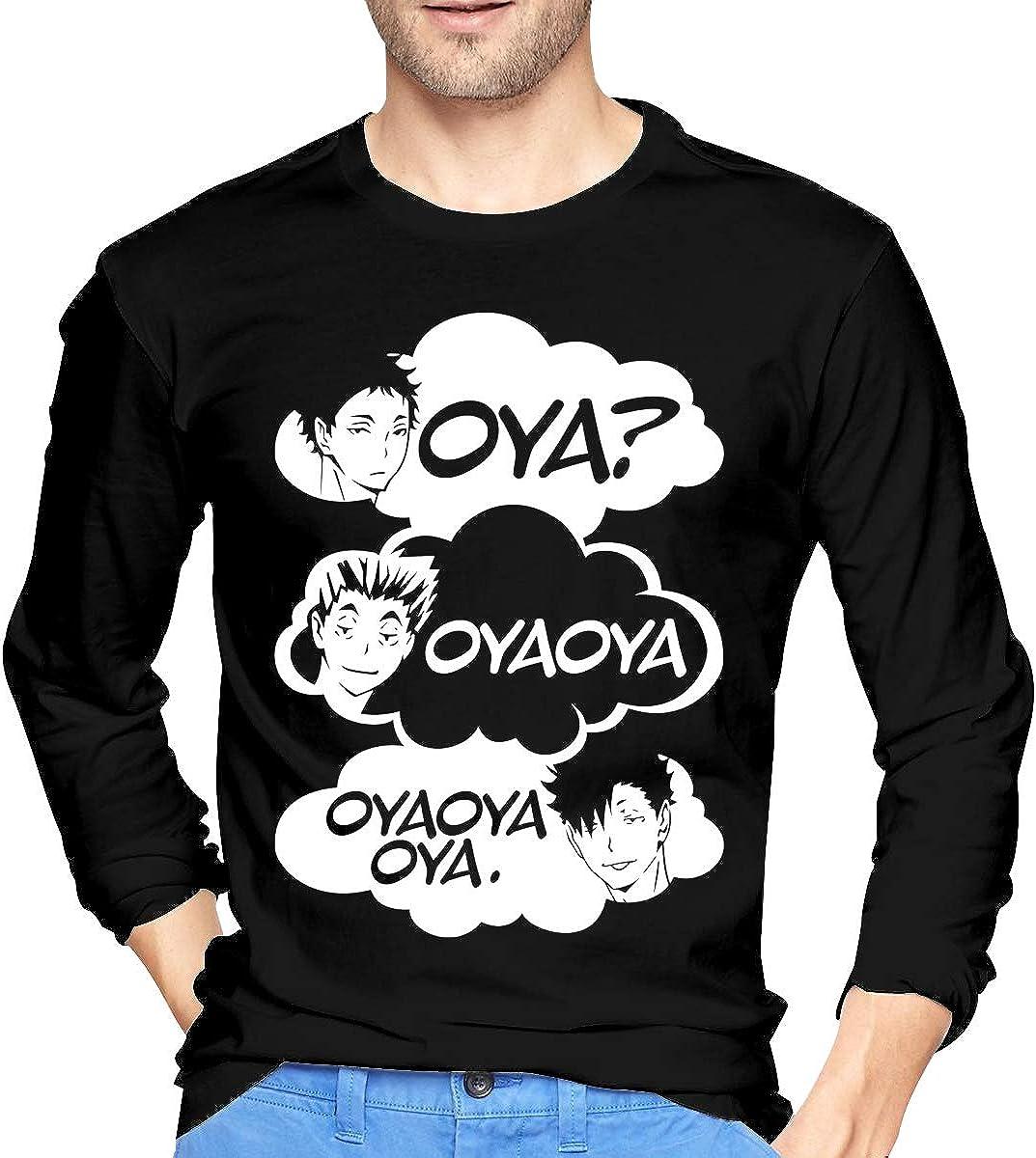 De.Pommeyeux OYA OYA OYA Haikyuu T-shirt estiva giapponese Anime cotone Top Harajuku Casual Top