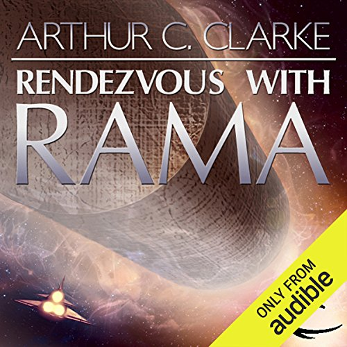 Rendezvous with Rama                    Written by:                                                                                                                                 Sir Arthur C. Clarke                               Narrated by:                                                                                                                                 Peter Ganim,                                                                                        Robert J. Sawyer - introduction                      Length: 9 hrs and 4 mins     40 ratings     Overall 4.3