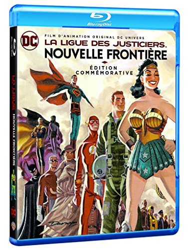Dc J League La Ligue Des Justiciers La Nouvelle Frontiere [Edizione: Francia]
