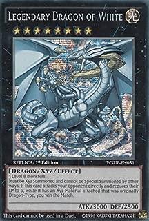 Yu-Gi-Oh!! - Legendary Dragon of White (WSUP-EN051) - World Superstars - 1st Edition - Prismatic Secret Rare