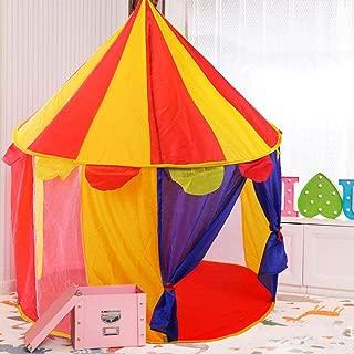 per Tiendas de Juegos Infantiles para Picnic Acampada Tiendas Princesas Decorativas de Casa para Ni/ños Auto-Instalaci/ón 150x130cm