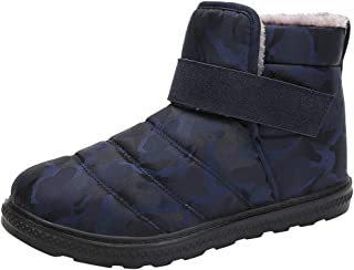 Mens Boots Shoes Fashion Waterproof Snow Boots Hiking Boot Casual Athletic Shoes
