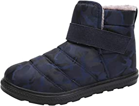 TOTAMALA Women's Waterproof and Lightweight Snow Boots are Resistant to Cold and Non-Slip US 6-10.5