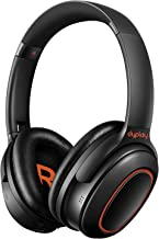 Active Noise Cancelling Headphones, dyplay [Upgraded] Over Ear Wireless Bluetooth Headphones with Dual-Mic Deep Bass/APTX, Bluetooth 5.0, Soft Protein Earpads Foldable Headset for Travel Work PC TV