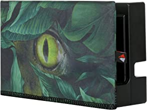 TXEsign Dust Case for Nintendo Switch Dock Sleeve Dust Cover Compatible with Nintendo Switch Charging Dock (The Dinosaur Eye)