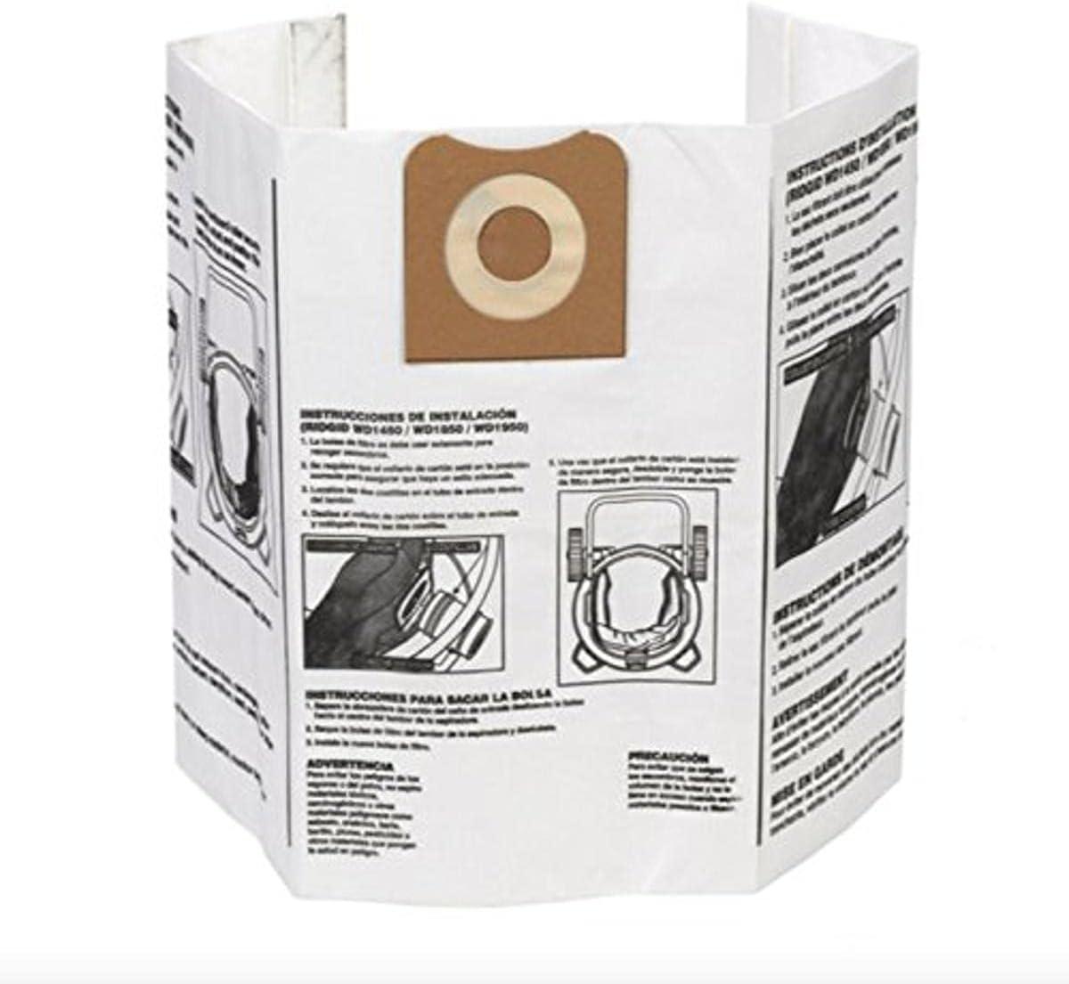 Ridgid - 23743 VF3502 High Efficiency Bags Nippon regular low-pricing agency Dust Dry Pickup for