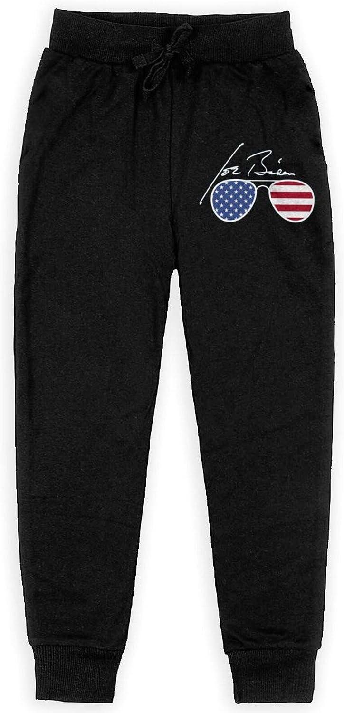 Biden Aviator Sunglasses Patriotic USA Flag Theme 02 Teenage Boy Girl Trousers Loose Sweatpants